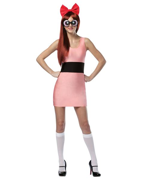 Adult deluxe bubbles costume from the powerpuff girls jpg 736x929
